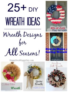 25+ DIY Wreath Ideas | Wreath Ideas for All Seasons!