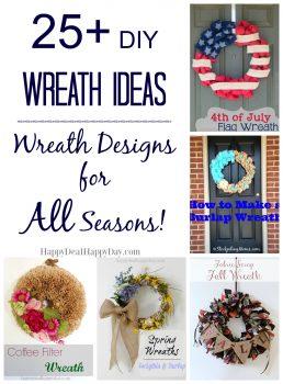 25+ DIY Wreath Ideas | Wreath Ideas for All Seasons!