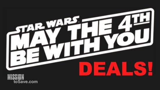 May the 4th Be With You – Star Wars Day Deals & DIY  #StarWarsDay