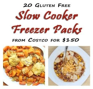Costco Rochester NY Store is OPEN!  Get Your Costco Meal Plan – 20 Gluten Free Slow Cooker Freezer Packs for $150 (Plan #4)