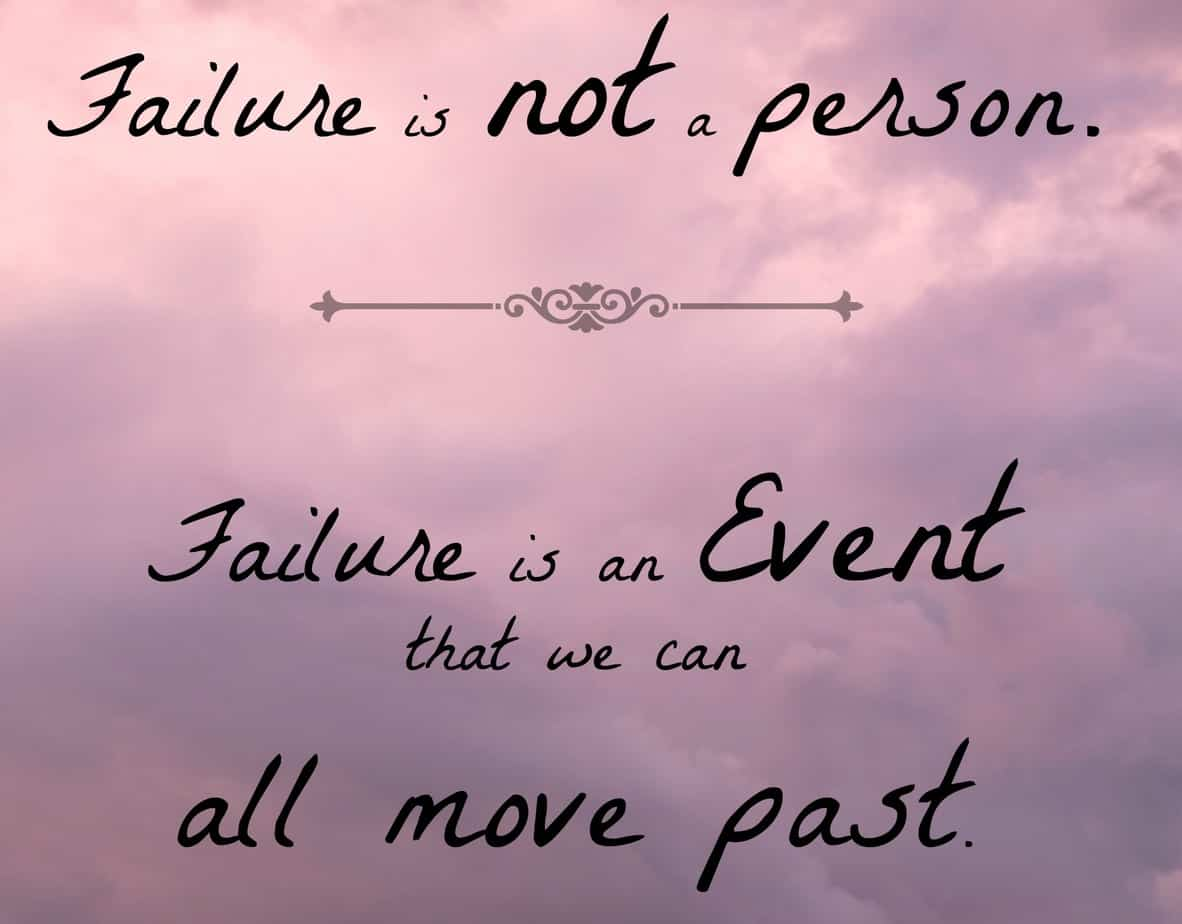 Quote from Virtuous - Chrisian move review.  Quote on failure.  Great inspirational movie!  happydealhappyday.com