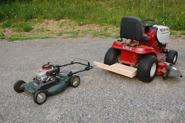 lawn mower project
