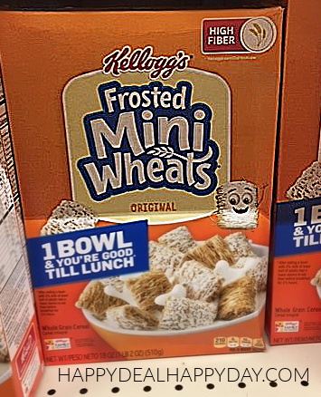 cereal marketing strategies frosted mini wheats