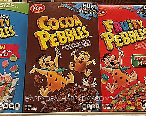 Marketing Strategies for cereal:  cocoa pebbles and fruity pebbles