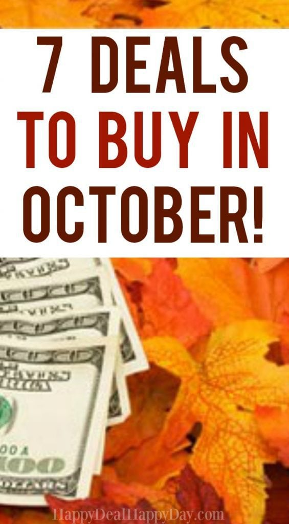 7 Deals to Buy in October