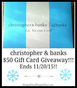 christopher & banks giveaway