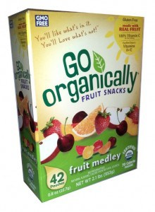 go organically fruit snakcs