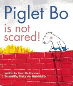 piglet bo is not scared