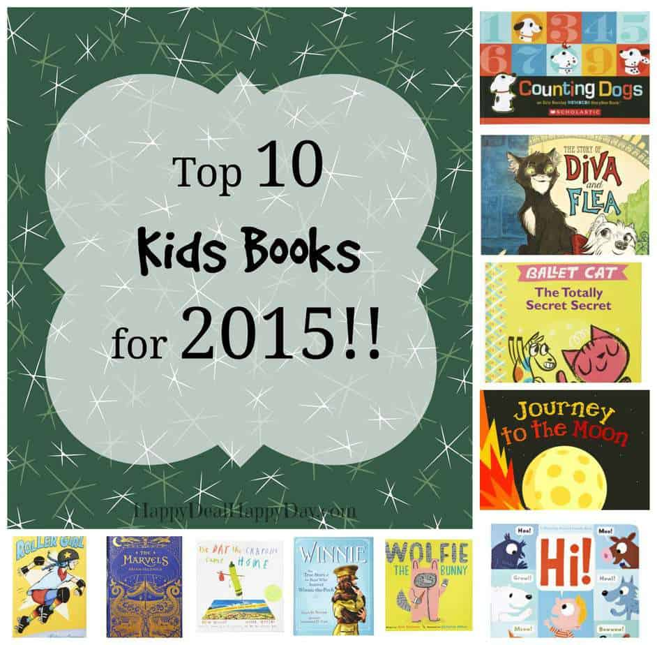 10 Best Books for Kids in 2015!