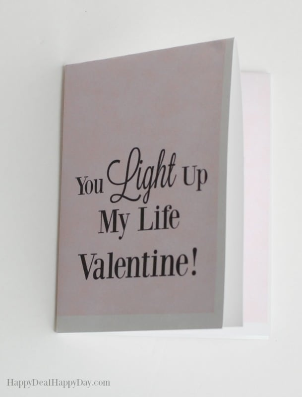 free printable valentines card
