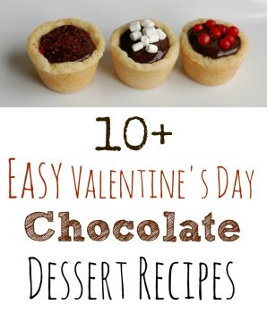 10+ Easy Valentine's Day Chocolate Dessert Recipes