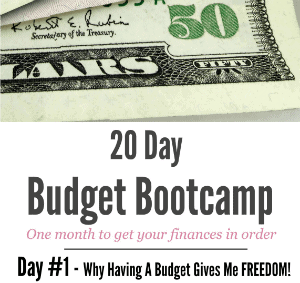 Why Having A Budget Gives Me Freedom!