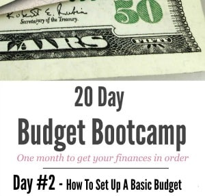 How To EASILY Set Up a Basic Budget