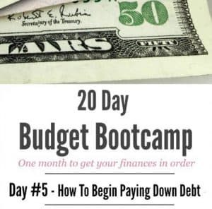 Ideas on How To Begin Paying Down Debt