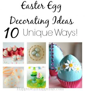 Easter Egg Decorating Ideas – 11 New Ways!