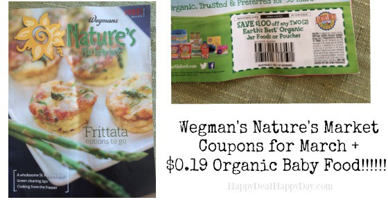 wegmans nature's market march