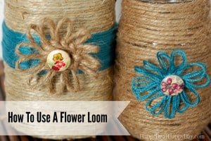 How To Use A Flower Loom