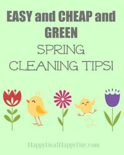 EASY and CHEAP and GREEN Spring Cleaning!