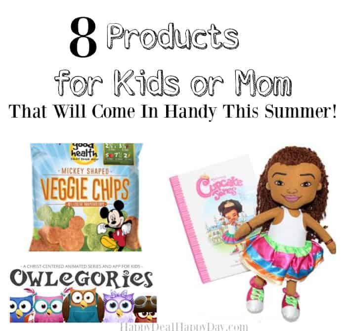 8 Products for Kids or Mom That Will Come In Handy This Summer!