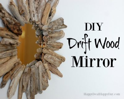 Driftwood Crafts | DIY Drift Wood Mirrors