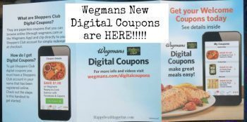 Wegmans Digital Coupons:  10 New Coupons on Their App!