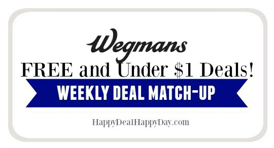 Wegmans List:  FREE or Under $1 – Updated 10/31/18