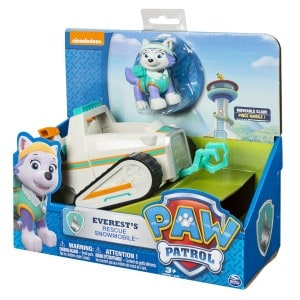 Amazon:  Paw Patrol Everest's Rescue Snowmobile for $13.96 – Normally $49.99!