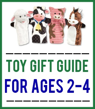 Toy Gift Guide For Ages 2-4