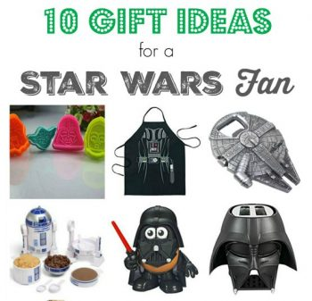Gift Guide:  10 Gift Ideas for a Star Wars Fan!