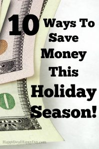 10 Ways To Save Money This Holiday Season | How to Save Money During Christmas! Here are 10 practical ways to save and stick to a budget this holiday season! Don't got into debt during the happiest time of the year! You can have a wonderful Christmas and not go broke!
