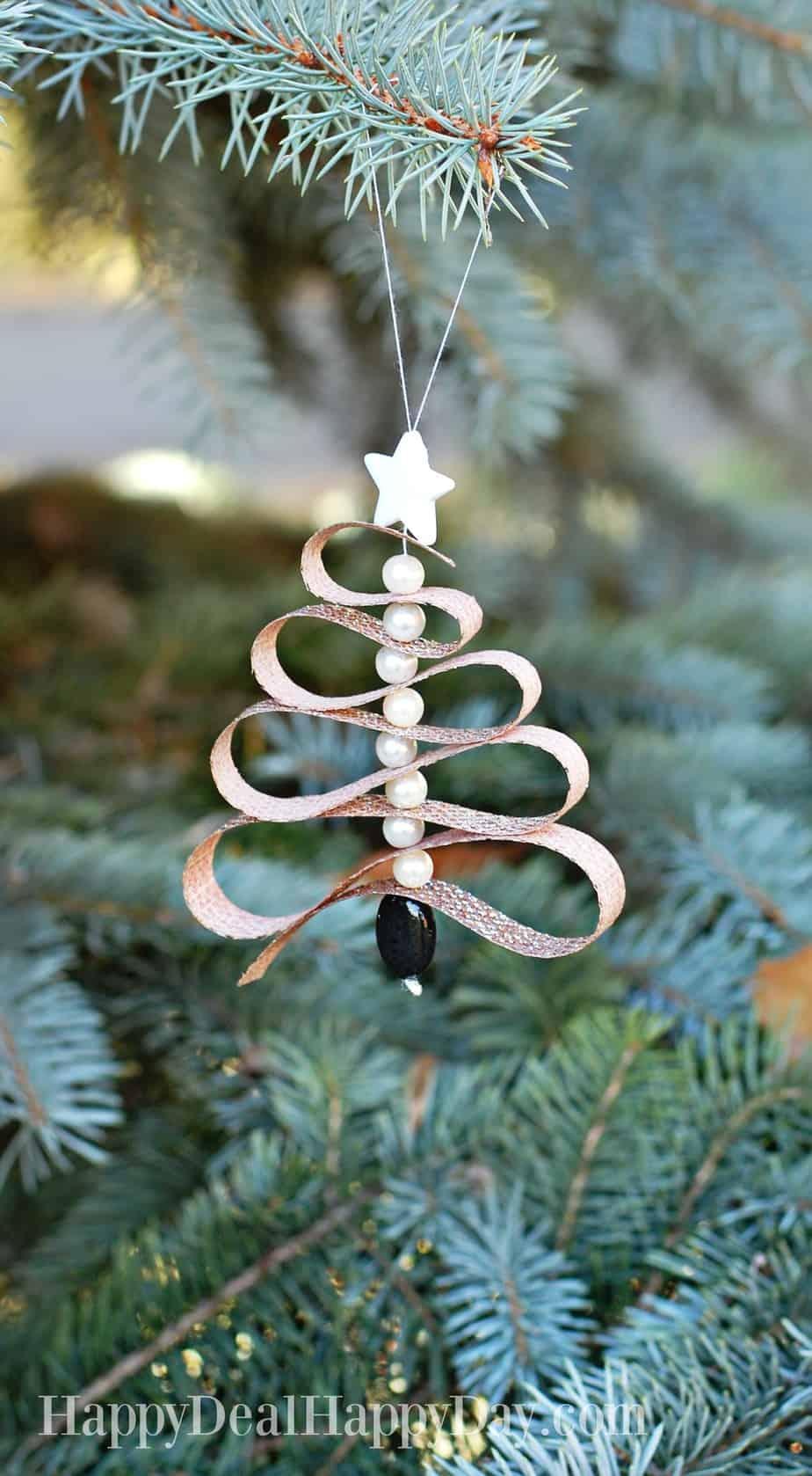 Homemade Essential Oil Diffuser Christmas Tree Ornament ...