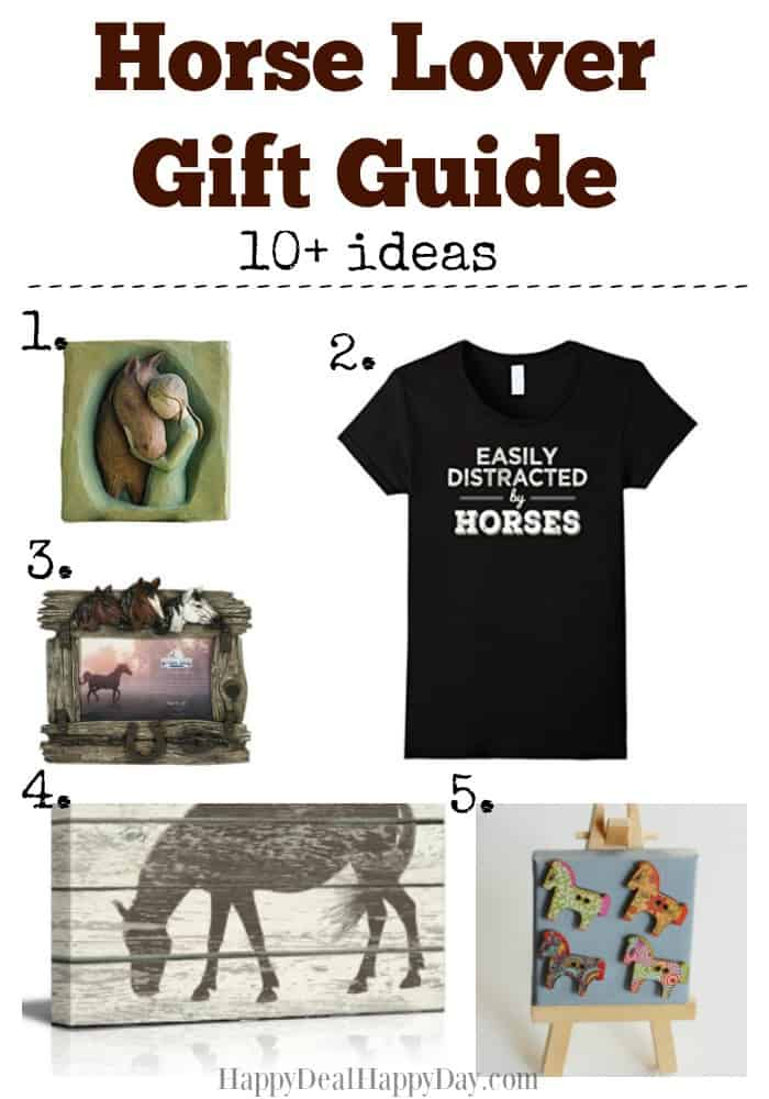 Gift Guide: 10 Gift Ideas for the Horse Lover in your Life! Here are 10+ ideas that any horse owner or horse lover would love for a gift! Go here to see the full list: http://wp.me/pUbK5-vNr