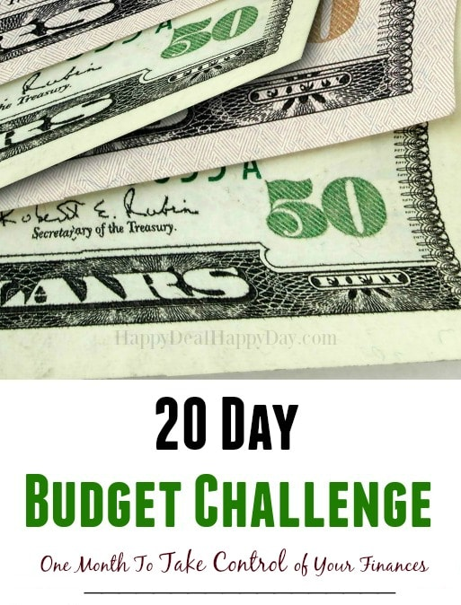 20 day budget bootcamp #1 budget gives freedom sign up logo 2