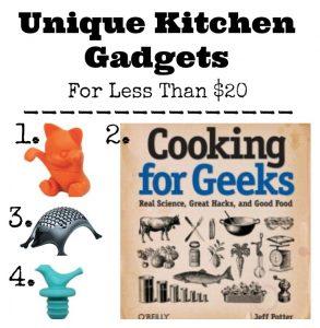 Unique Kitchen Gadgets For Less Than $20