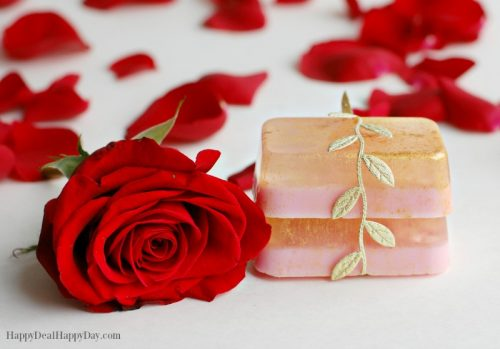 Easy Melt & Pour Soap Recipes: Rose Soap with Glycerin & Goats Milk