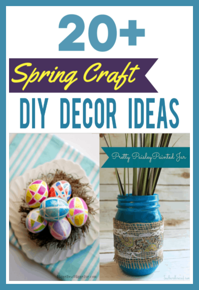 Spring Craft DIY Decor Ideas