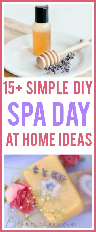 Simple DIY Spa Day at home ideas!