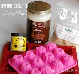 Homemade Coconut Oil Lotion