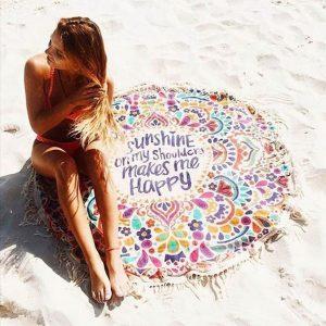 boho beach towel