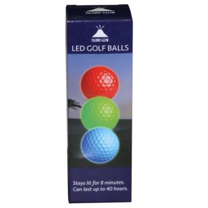 Gift Ideas for the Golfer - LED golf balls