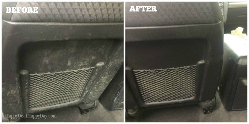clean car hack -before and after