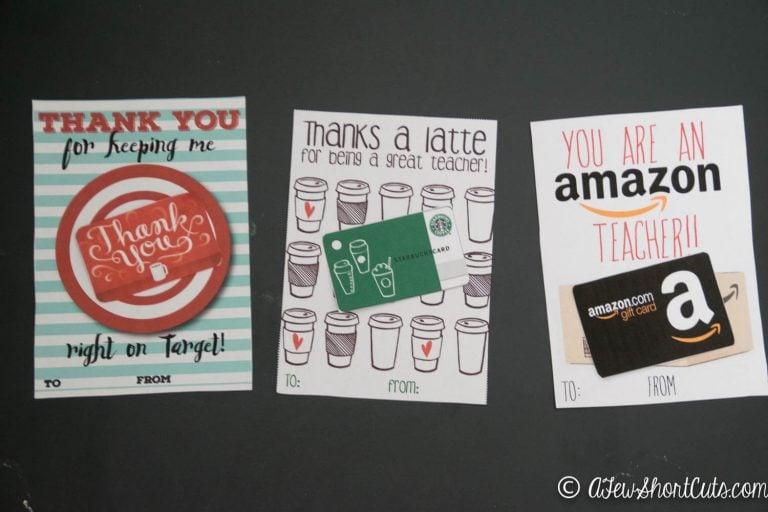 End of the Year Teacher Gift Ideas
