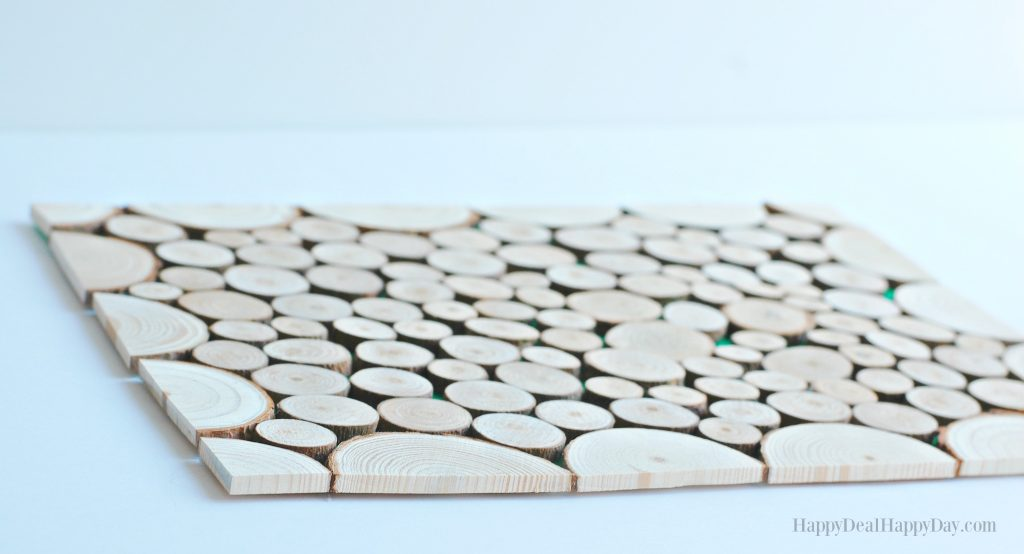 Wood Slice Craft Ideas placemat