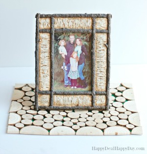 Wood Slice Craft Ideas:  Wood Slice Placemat