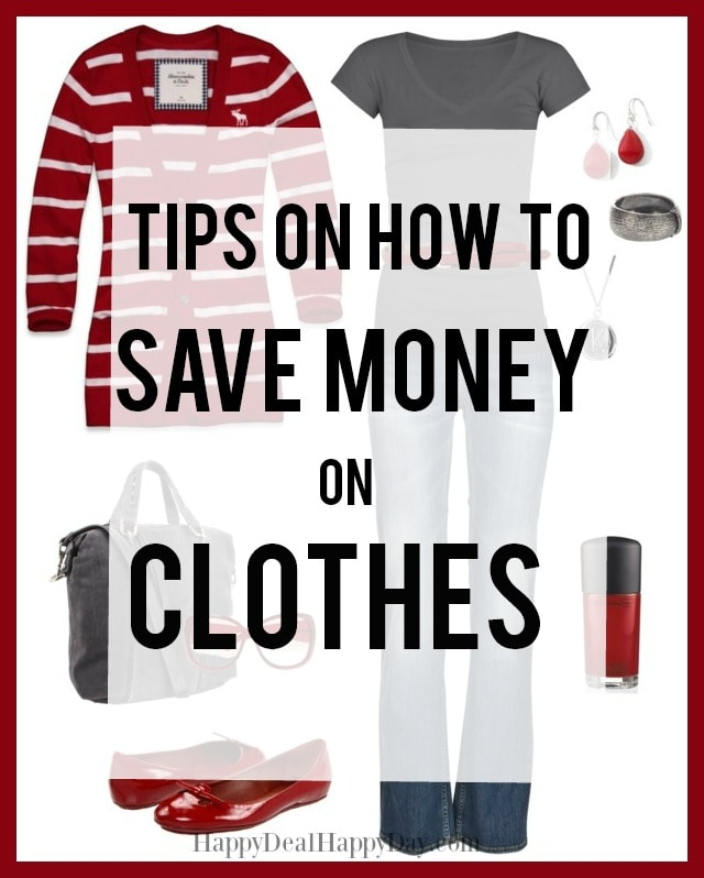 Tips on how to save money on clothes