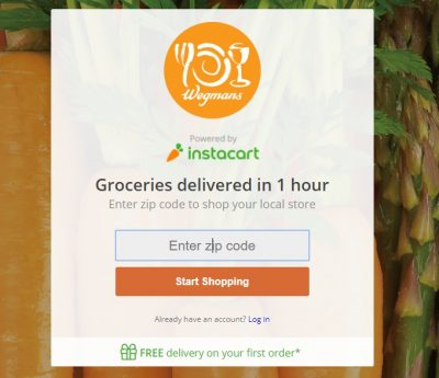 Wegmans Introduces Instacart Grocery Home Delivery Program!