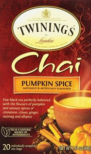 Pumpkin Spice Chai tea for pumpkin spice season