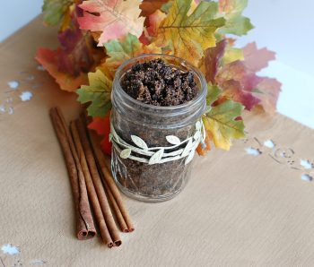 Easy DIY Coffee Scrub with Essential Oils