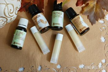 DIY Pumpkin Spice Lip Balm