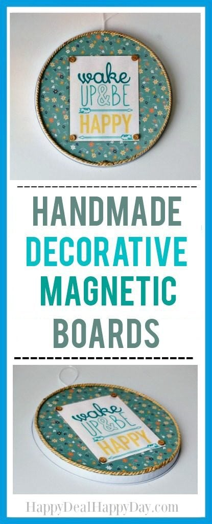 Dollar Store Makeover: Handmade Decorative Magnetic Board
